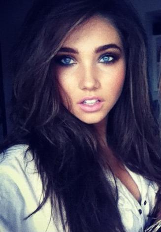 braune haare blaue augen girl sex